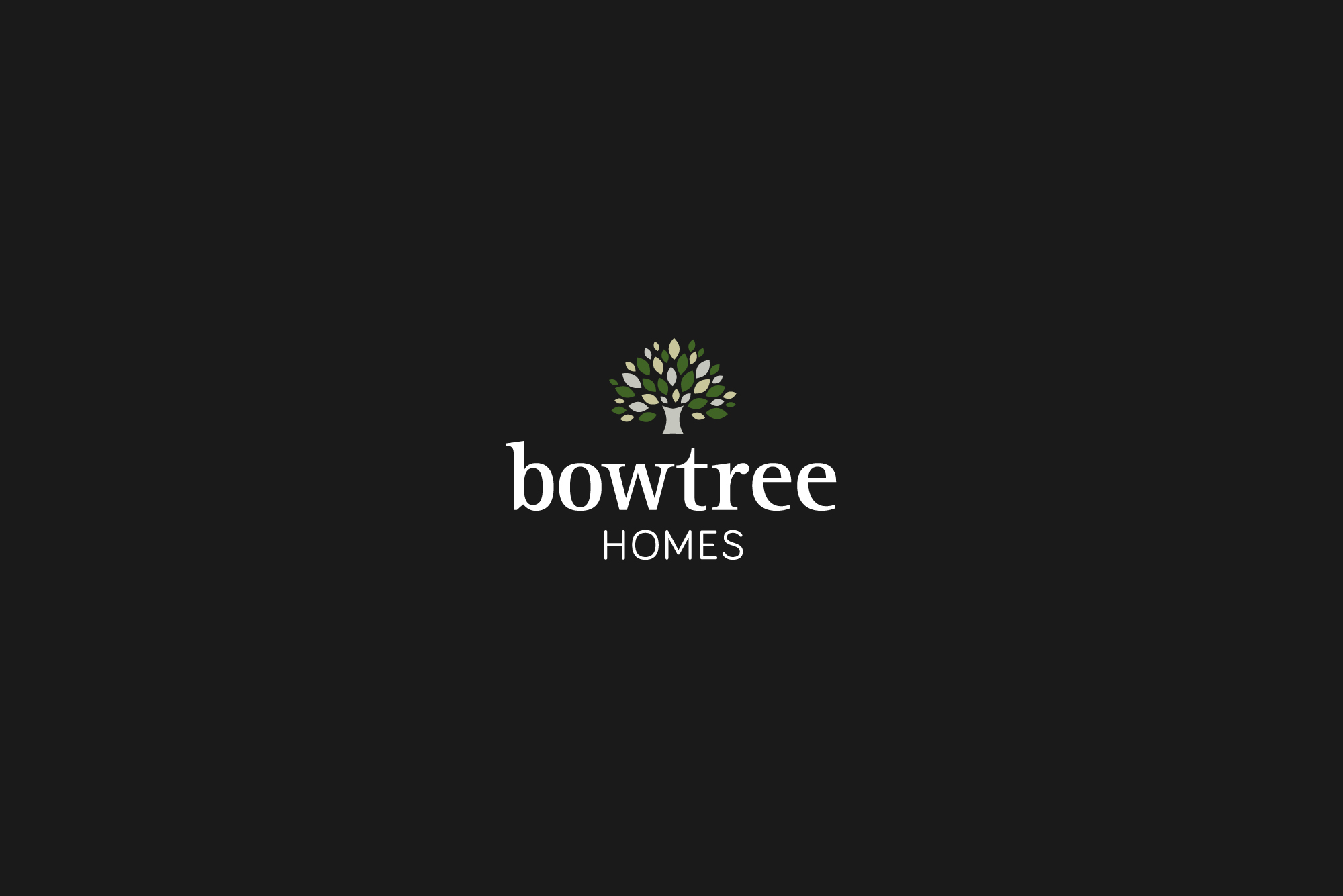 Logo design for Bowtree Homes
