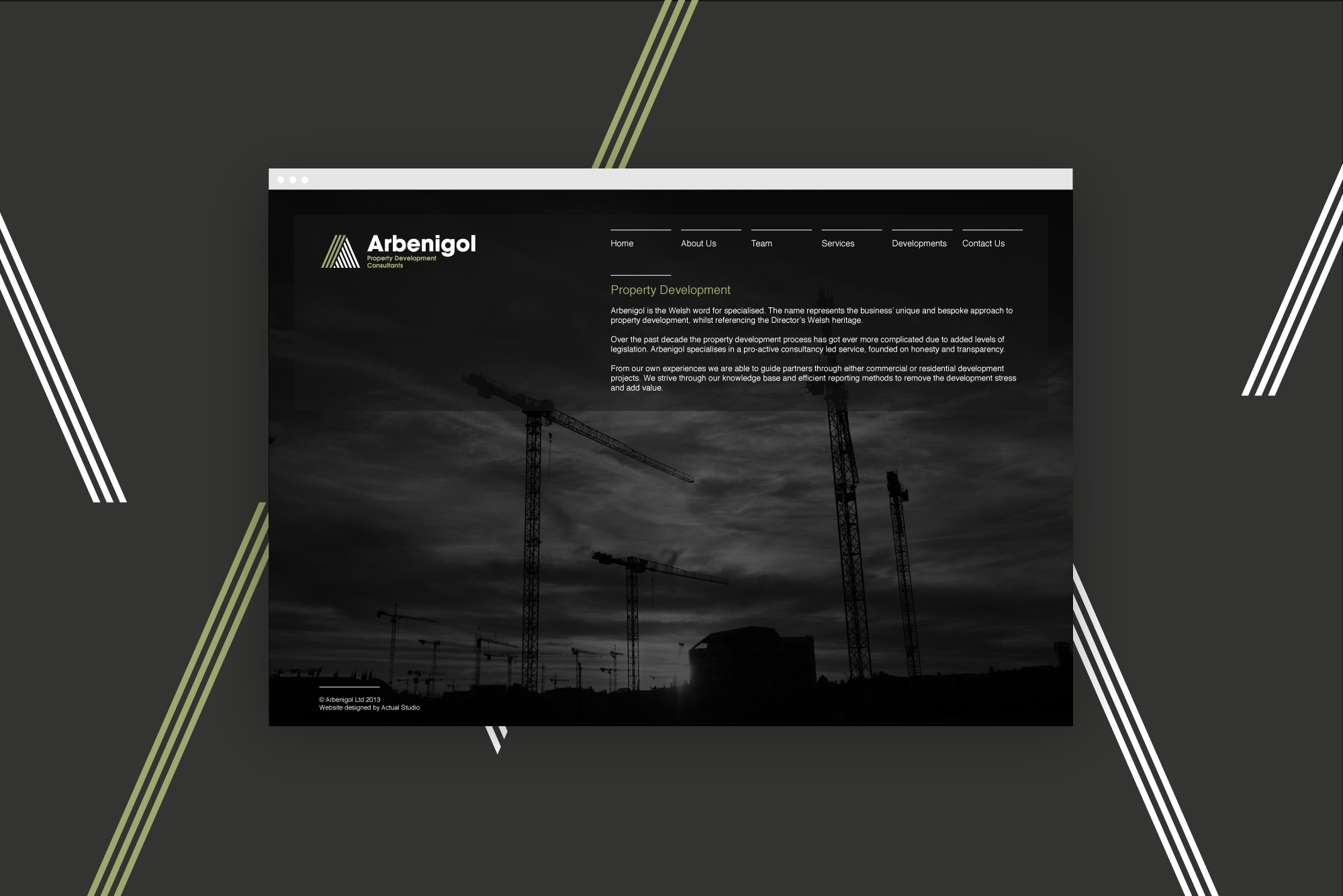 Website design for Boost Homes