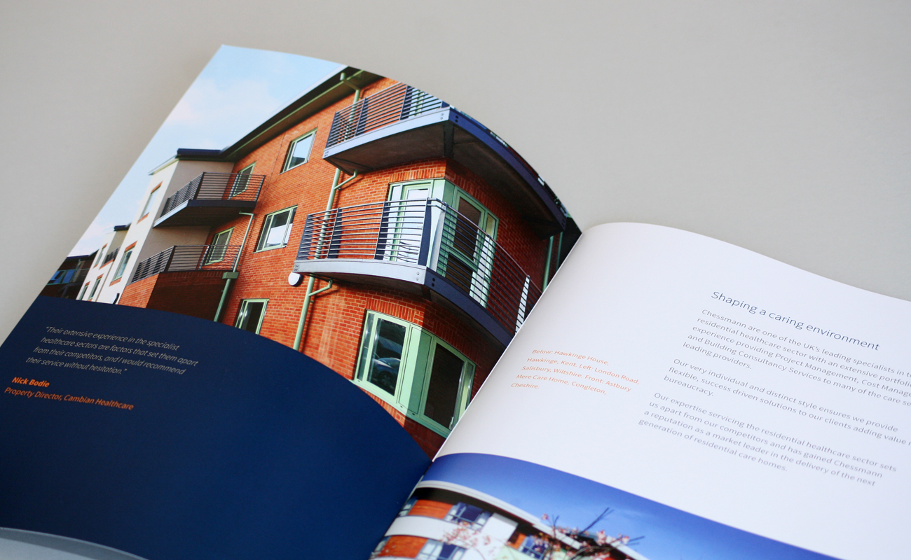 Brochure design for Chessmann Consulting