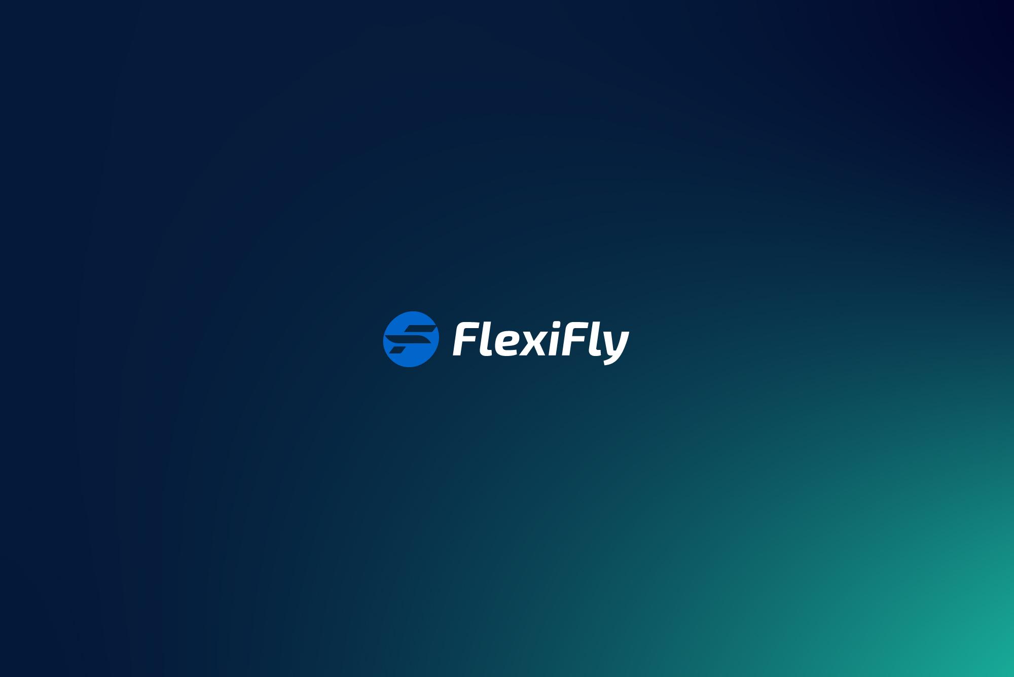 FlexiFly logo design and website