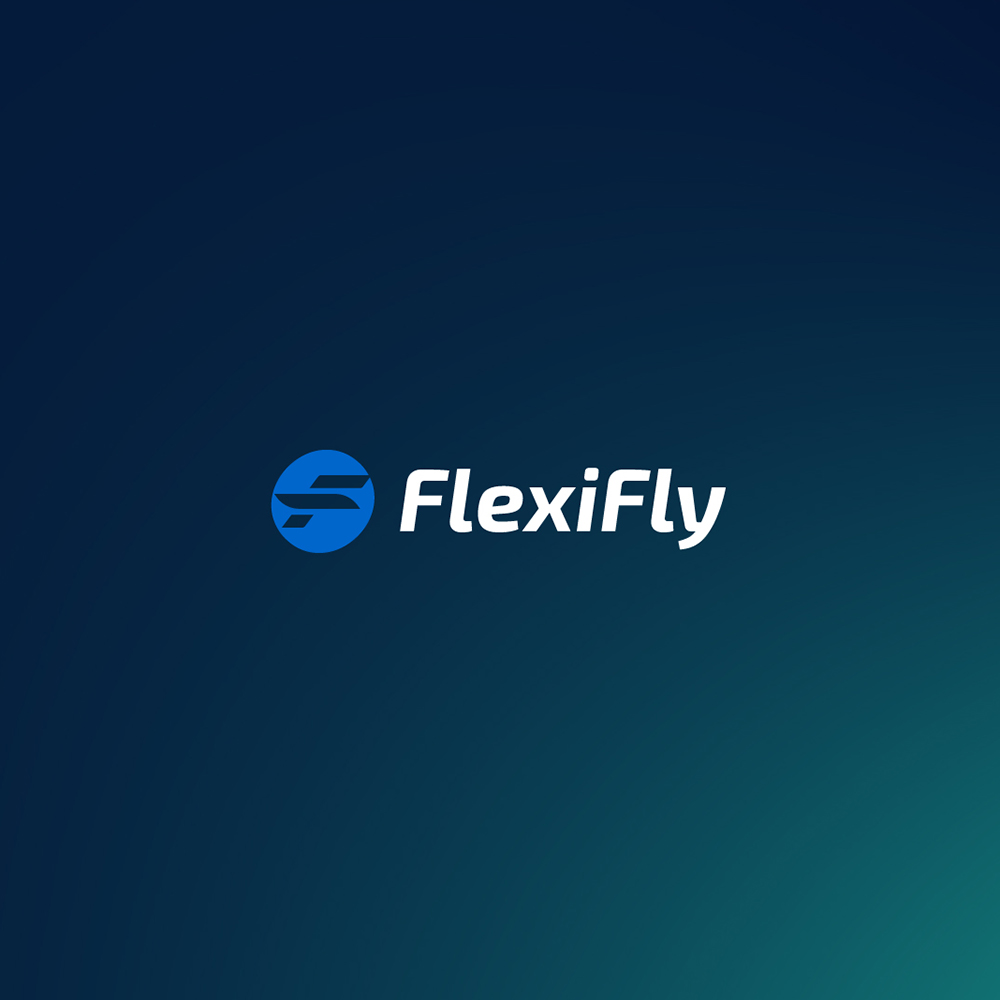 FlexiFly logo design